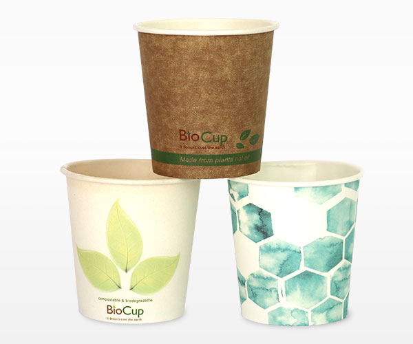 4oz Single Wall BioCup by Sunny Coast Coffee Distributors