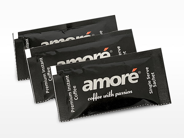 Amore Instant Coffee 1.7gm Pillow Sachets