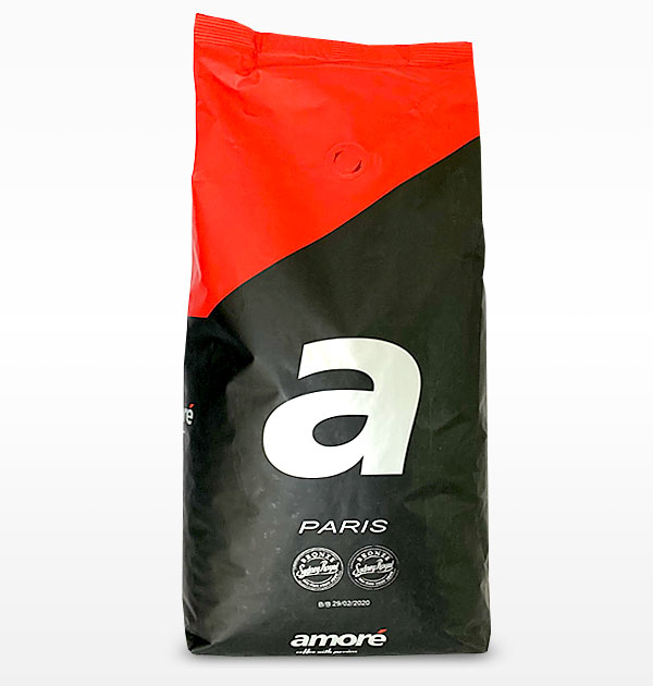 Amoré Paris Coffee Beans 1kg Bag