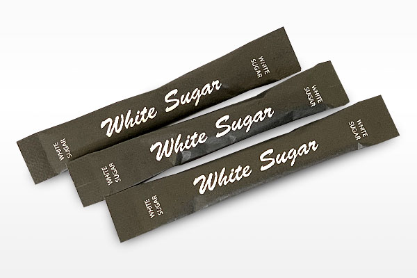 Sunny Coffee Distributors Generic White Single Serve Sugar Sticks