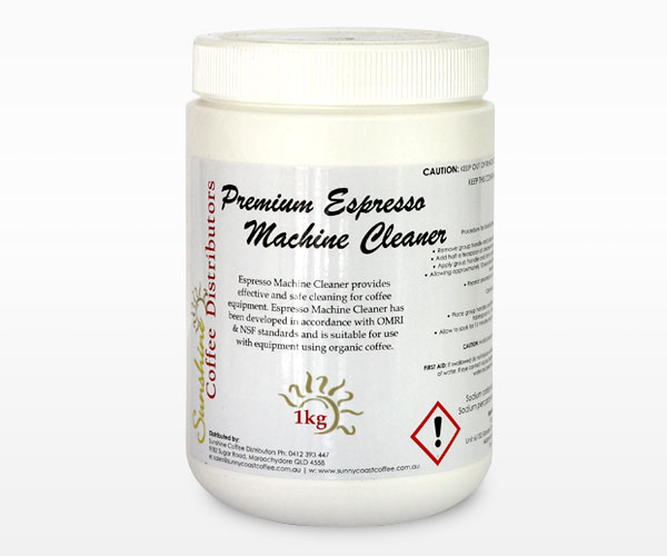 Premium Espresso Machine Cleaner 1kg Tub Photo