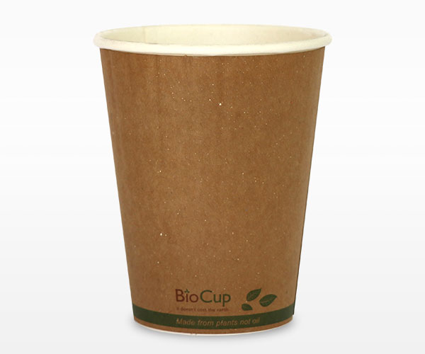 Single & Double Wall Kraft PLA lined Paper Hot Cup