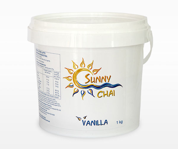 Vanilla Chai 1kg Sunny Coast Coffee Distributors
